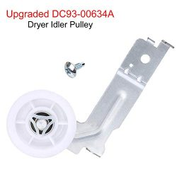 YEECHUN DC93-00634A Dryer Idler Pulley [Upgraded With Double Bearings] For Samsung Replacement P ...