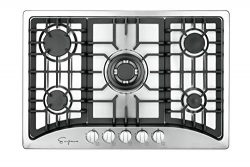 Empava 30″ 5 Italy Sabaf Burners Gas Stove Cooktop Stainless Steel EMPV-30GC5B70C