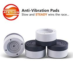 ATETION Anti-Vibration and Anti-Walk Washer and Dryer Pads