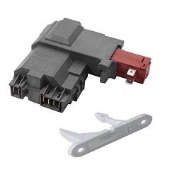 Siwdoy 131763202 Washer Door Lock Switch Assembly for Frigidaire, Electrolux 131763256,013176320 ...