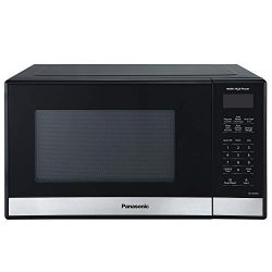 Panasonic Compact Microwave Oven, Easy Clean Interior, Popcorn Button, Child Safety Lock, and Au ...