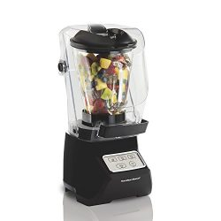 Hamilton Beach 53600 SoundShield Blender, 950 Watts, 3-Speed, with Pulse, Blends Food and Drinks ...