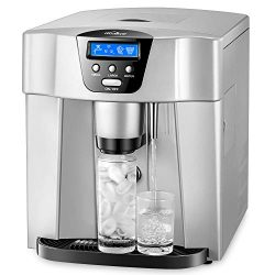 Countertop Ice Machine, Kealive Portable Ice Maker, Ice Cube Maker, Makes 33lbs per 24 hrs, Ice  ...