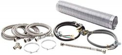 Superior Brands Washer & Electric Dryer Install Kit with Power Cord, Y Adapter, Fill Hoses,  ...