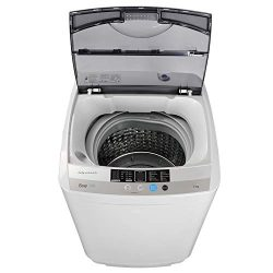 JupiterForce Portable Full-Automatic 1.6 Cu. ft. Washing Machine and Dryer 2in1 Laundry Washer&a ...