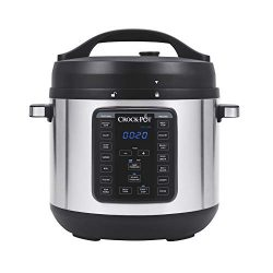 Crock-Pot 8-Quart Multi-Use XL Express Crock Programmable Slow Cooker and Pressure Cooker with M ...