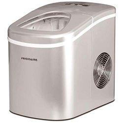 Frigidaire EFIC108SILRW / EFIC108-SIL-RW / EFIC108-SIL-RW Countertop Ice Maker – Silver &# ...