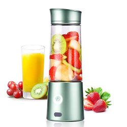 Kacsoo M630 Portable Smoothie Blender, USB Blender for Shakes and Smoothies, Fruit Mixer Juicer  ...