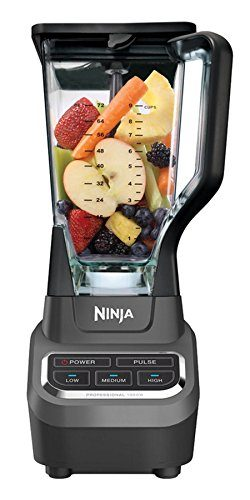 Ninja Professional Blender with Total Crushing Technology 1000 Watt high-powered – BL610 ( ...