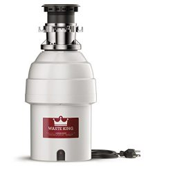 Waste King Legend Series 1 HP Batch Feed Garbage Disposal with Power Cord – (L-8000TC)