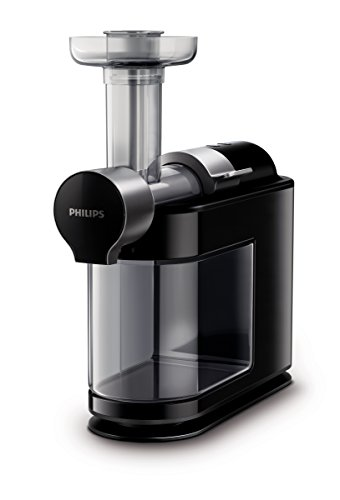 Philips HR1895/74 Micro Masticating Juicer Avance Collection, Black, One Size