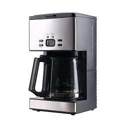 Coffee Machine,PowerDoF CM6626T 12-Cup Glass Carafe Programmable Coffee Maker (2, Black)