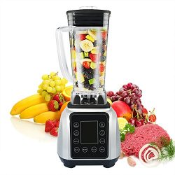 HoLead NY-8638EBA 2L 1450W Automatic Multifunction Blender High Speed Professional Mixer with LC ...