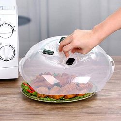 Microwave Plate Cover – Magnetic Hover Function | Microwave Lid Food Cover | Magnetic Micr ...