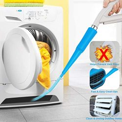 GLOCITI Vacuum Hose Attachment, Officially As Seen On TV Removes Lint from Your Dryer Vent, Powe ...