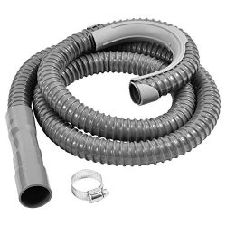 Washing Machine Drain Discharge Hose – Commercial grade Polypropylene with Universal Connection  ...