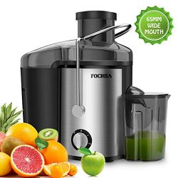 Juicer Wide Mouth Juice Extractor,FOCHEA Juicer Machine,3 Speed Centrifugal Juice For Fruits &am ...