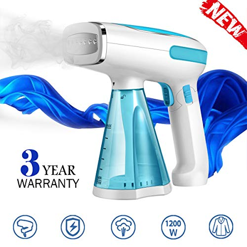 Steamer for Clothes Travel Size Clothes Steamer Handheld Garment Steamer Wrinkle Remover Fabric  ...