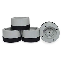 Washer Dryer Antivibration and Non Skid Pad   Washer Viberation Pads Rubber Feet Pads for Anti V ...