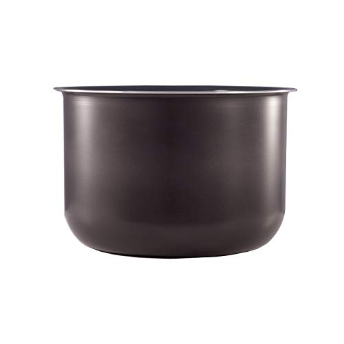 Genuine Instant Pot Ceramic Non-Stick Interior Coated Inner Cooking Pot – 6 Quart (Renewed)