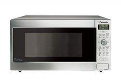 Panasonic NN-SD755S / NN-SD765S Cyclonic Wave Inverter Technology Microwave Oven, 1.6 cu. Ft, St ...