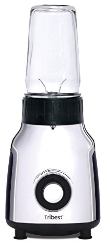 Tribest PBG-5050-A Glass Personal Blender Chrome