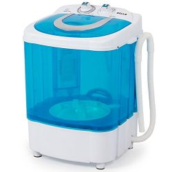 DELLA Electric Small Mini Portable Compact Washer Washing Machine RV Top Load (8.8 LB Capacity), ...