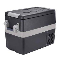 Portable Refrigerator 42 Quart (40 Litre) Mini Car Fridge for Truck, RV, Caravan and Boat |12V/2 ...