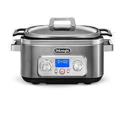 De'Longhi CKM1641D Livenza All-in-One Programmable Multi Cooker Stainless Steel