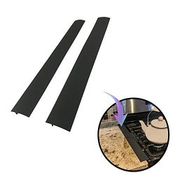 Kitchen Stove Counter Gap Cover, Long Silicone Gap Cover for Counters, Stovetops, Washing Machin ...