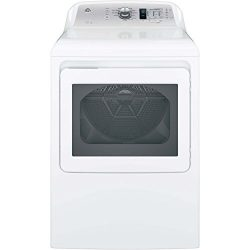 GE GTD65EBSJWS 7.4 Cu. Ft. White Electric Dryer – Energy Star