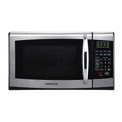 Farberware FMO09AHTBKR 900-Watt Microwave Oven 0.9 Cubic Foot Stainless Steel