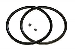 2-Pack of Presto Pressure Cooker Sealing Ring/Gasket & Overpressure Plug (2 Sets per Pack) & ...
