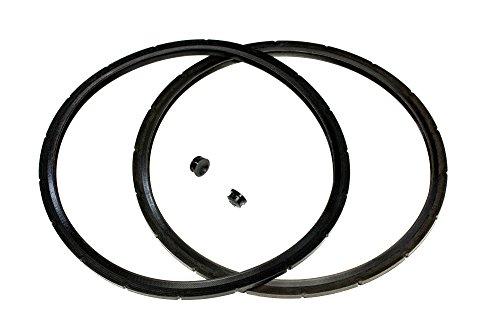 2-Pack of Presto Pressure Cooker Sealing Ring/Gasket & Overpressure Plug (2 Sets per Pack) & ...