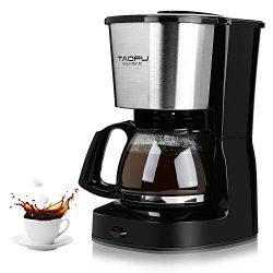 Coffee Maker,Drip Coffee Maker with 0.65L/4-5 Cups with Glass Carafe and One Touch Button,Coffee ...