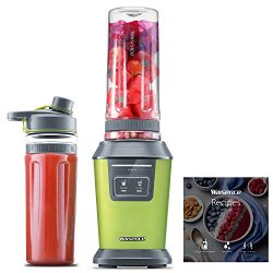 Willsence Blender Smoothie Blender 700 Watts Intelligent Nutri-iQ System, 6 Stainless Steel Blad ...