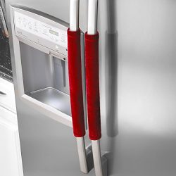 OUGAR8 Refrigerator Door Handle Covers,Keep Your Kitchen Appliance Clean from Smudges,Fingertips ...