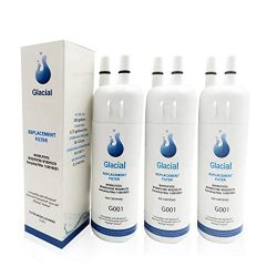 Glacial Pure Refrigerator Water Filter 1 Replacement for W10295370A WF1 W10295370 EDR1RXD1 46908 ...