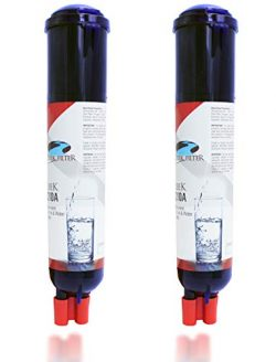 Refrigerator Water Filter for Whirlpool Everydrop Filter 3, 43 96 8 41, 9083 [2-Pack]
