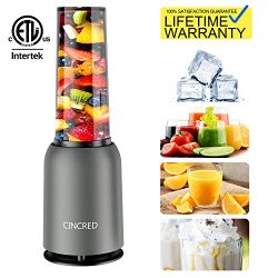 Updated 2019 Version Professional Personal Countertop Blender for Smoothie, Ice, Milkshake, Froz ...