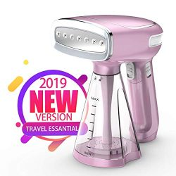Keiyaloe Steamer for Clothes – Travel Steamer with 3 Steam Modes – 1200W Handheld St ...