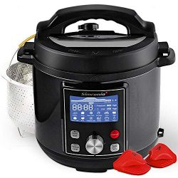 Simfonio Electric Pressure Cooker 6Qt – Simpot 10-in-1 Steamer Pot Rice Cooker Slow Cooker ...