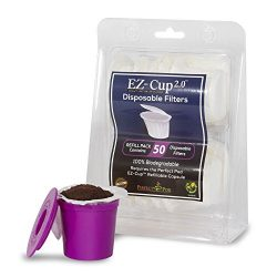 EZ-Cup Filters by Perfect Pod-(200 Filters) Paper K-Cup Filters