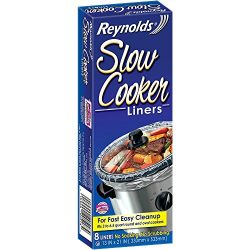Reynolds Slow Cooker Liners 2 Pack (8 Liners Total)