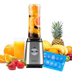 Personal Blender for Shakes and Smoothies – Powerful Drink Mixer with 20 Oz To Go Bottle,  ...