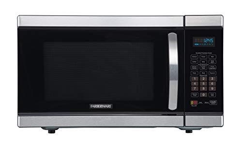 Farberware Gourmet FMO11AHTBKJ 1.1 Cu. Ft 1100-Watt Microwave Oven with Smart Sensor and Inverte ...