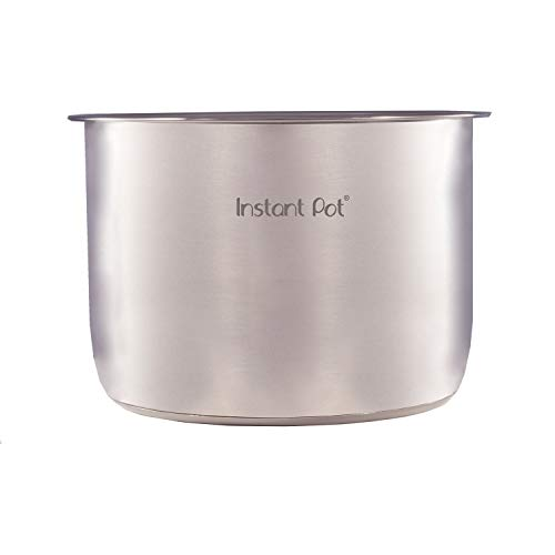 Genuine Instant Pot Stainless Steel Inner Cooking Pot – 8 Quart (Renewed)