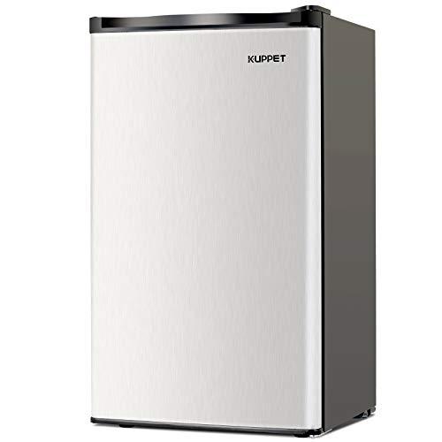Kuppet-Mini Refrigerator Compact Refrigerator-Small Drink Food Storage Machine for Dorm, Garage, ...