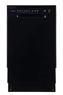 EdgeStar BIDW1802BL 18 Inch Wide 8 Place Setting Energy Star Rated Built-In Dishwasher