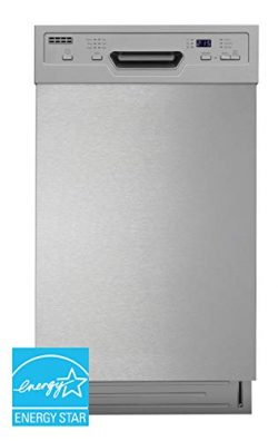SPT SD-9254W: Energy Star 18 w/Heated Drying – White Built-in Dishwasher